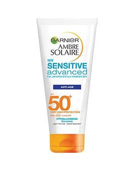 garnier-ambre-solaire-sensitive-anti-ageing-face-sun-cream-spf50-100ml