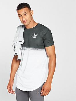 sik-silk-curved-hem-wash-out-tee