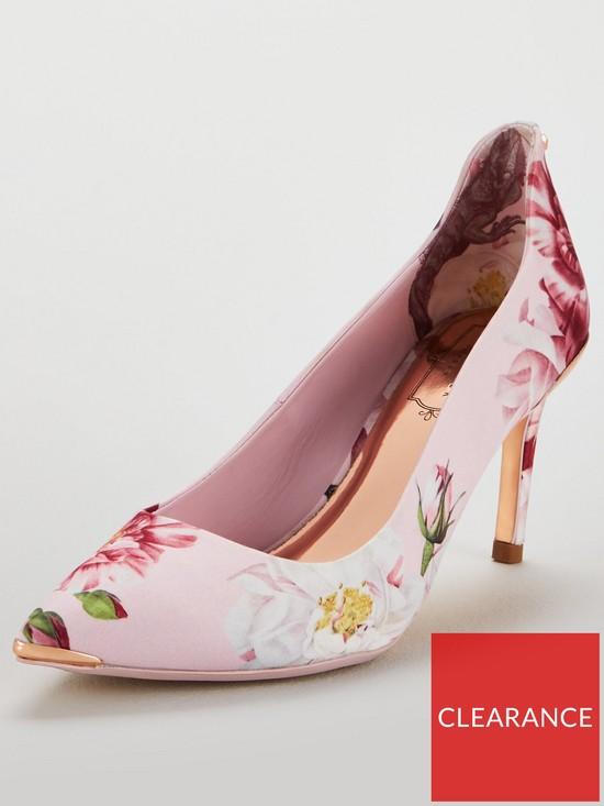 4316f89a91ec Ted Baker Viyxinp 2 Mid Heel Court Shoe - Pink