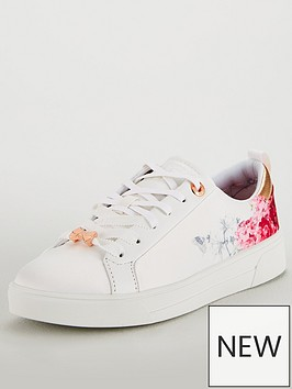 ted-baker-jymina-floral-trainer-white
