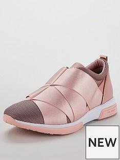 ted-baker-queanem-strap-trainer-light-pink