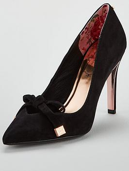 ted-baker-gewell-bow-court-shoe-black