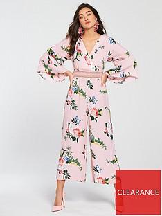 miss-selfridge-pink-floral-lace-insert-jumpsuit