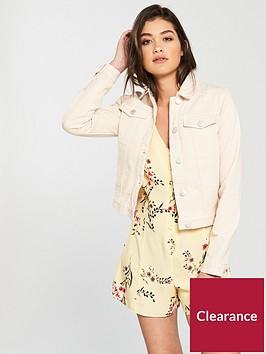 miss-selfridge-cropped-denim-jacket-nude