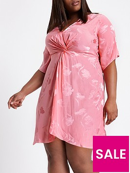ri-plus-river-island-kimono-knot-front-dress-pink