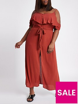 ri-plus-river-island-maxi-dress--red