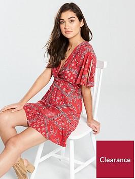 miss-selfridge-paisley-scarf-angel-sleeve-mini-dress-multi