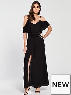 river-island-maxi-dress-black
