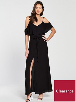 river-island-maxi-dress-black
