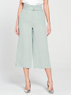 miss-selfridge-miss-selfridge-paperbag-wide-leg-crop-trouser