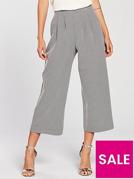 miss-selfridge-miss-selfridge-gingham-pleat-front-crop-trouser