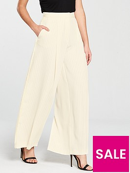 river-island-tassel-stripe-trouser-cream