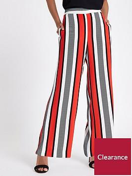 ri-petite-river-island-wide-leg-trouser-red-stripe
