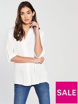 river-island-twist-back-blouse-white
