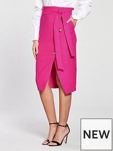 river-island-button-pencil-skirt-pink