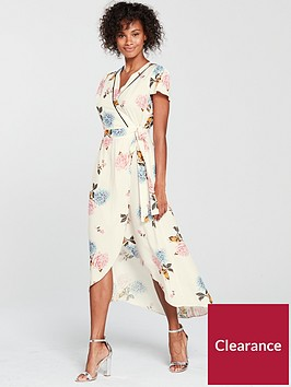miss-selfridge-floral-wrap-midi-dress