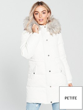 v-by-very-petite-longline-padded-coat-whitenbsp