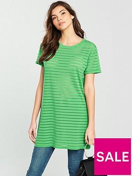 v-by-very-boyfriend-panel-tunic-green