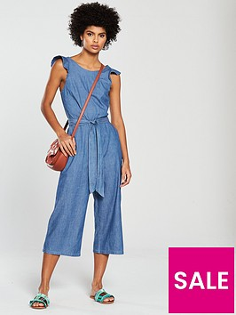 oasis-ruffle-wide-crop-jumpsuit-denim