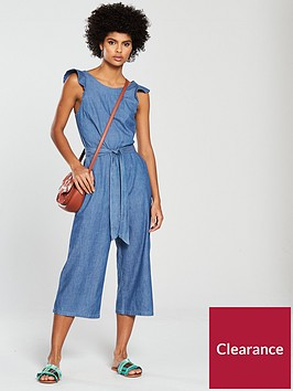 oasis-ruffle-wide-crop-jumpsuit-denim