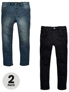 mini-v-by-very-2-pack-skinny-jean-black-and-grey