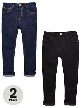 mini-v-by-very-2-pack-slim-fit-jean-rinse-wash-and-black