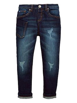 mini-v-by-very-dark-wash-distressed-look-low-rise-slim-fit-jean