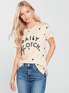maison-scotch-maison-scotch-all-over-printed-logo-t-shirt