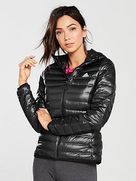 Adidas Varilite Ho Jo Hooded Jacket - Black