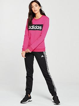 Adidas Chillout Tracksuit -Pink/Black