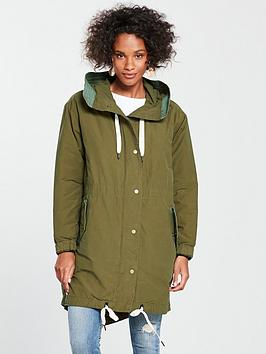 Maison Scotch Parka With Inner Jacket