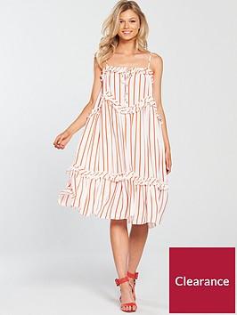 v-by-very-petite-stripe-swing-cami-dress-printednbsp