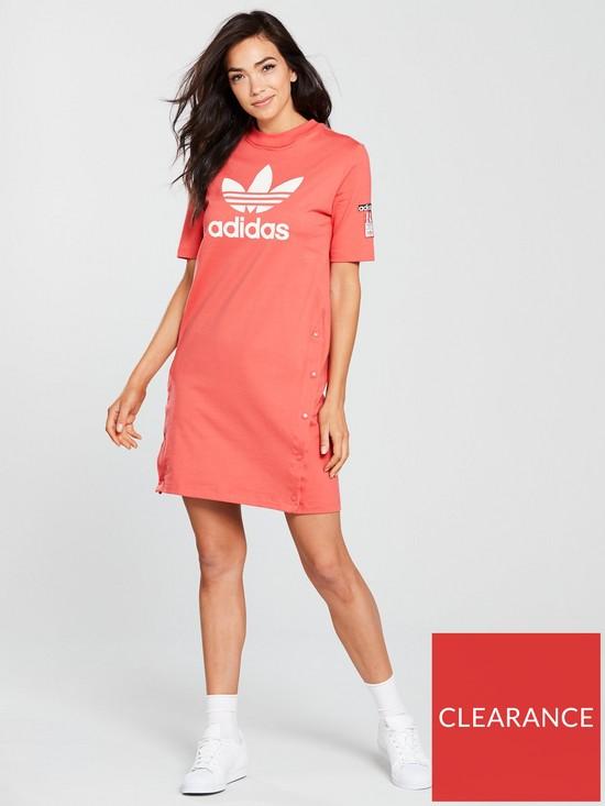 9bf0f1664dd0 ... adidas Originals Adibreak Tee Dress - Burnt Orange. View larger