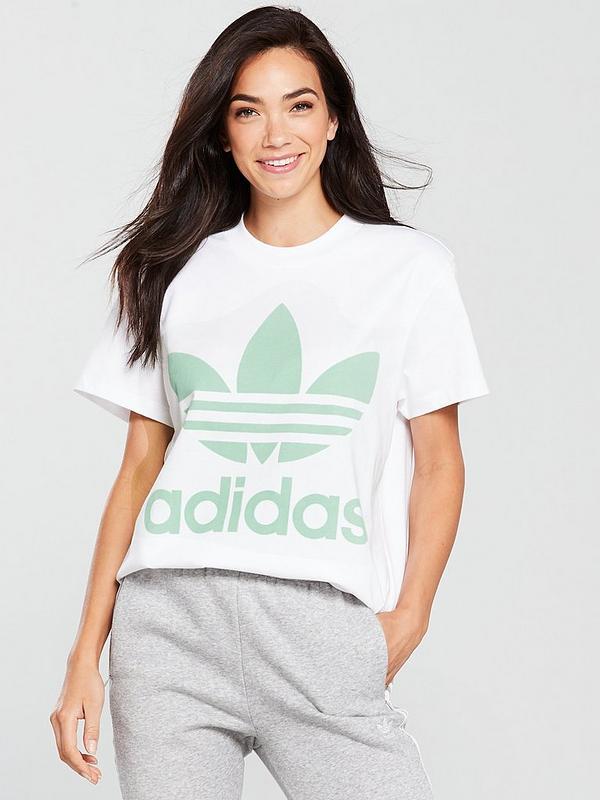 Big Trefoil T Shirt White