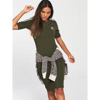 3 Stripes Dress   Khaki  by Adidas Originals