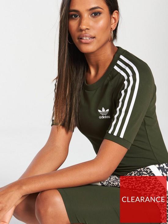 2efbfcaab3 ... adidas Originals 3 Stripes Dress - Khaki. View larger