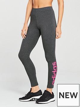 adidas-essentials-linear-tight-dark-greynbsp
