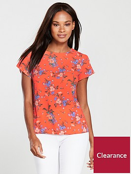 oasis-provence-petal-sleeve-t-shirt-orange