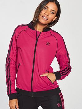 Adidas Originals Leoflage Superstar Track Top - Pink