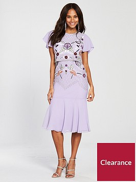 frock-and-frill-cap-sleeve-embellished-fluted-hem-dress-lilac