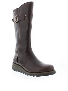 Fly London Fly Shap059 Buckle Knee Boot