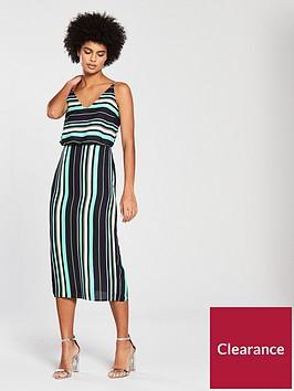 oasis-stripe-cami-tie-back-midi-dress-multi