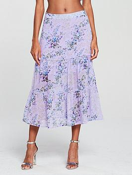 oasis-provence-trailing-ditsy-tiered-midi-skirt-lilac