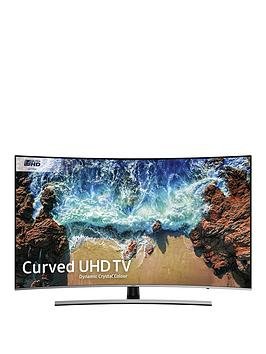 Samsung Ue55Nu8500 55 Inch, Dynamic Crystal Colour, Ultra Hd 4K Certified, Hdr 1000, Smart, Curved Tv