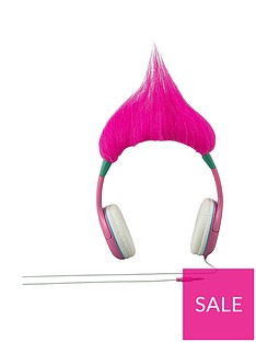d9910a5452 DreamWorks Trolls Trolls Poppy Molded Youth Headphones