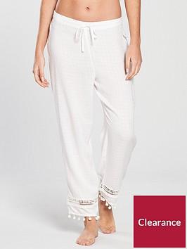 river-island-river-island-pom-pom-detail-pj-trouser--white