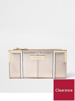 river-island-river-island-slim-foldout-purse--rose-gold