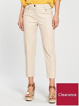 wallis-cotton-stretch-crop-trouser-stone