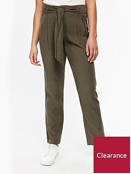 wallis-petite-paperbag-trouser