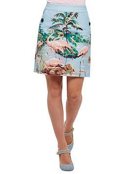joe-browns-feistynbspfeisty-flamingo-skirt